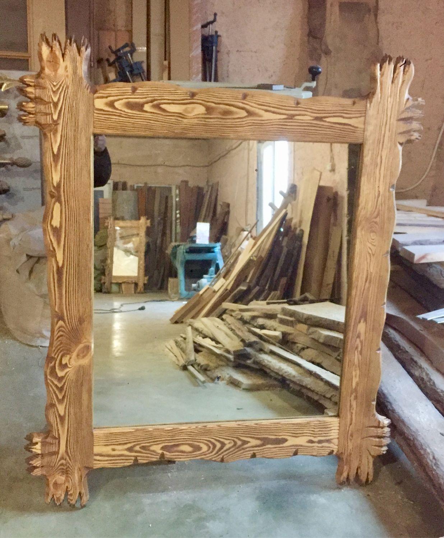 Рама для зеркала из дерева, Зеркала, Екатеринбург,  Фото №1