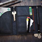 Сумки и аксессуары handmade. Livemaster - original item Leather purse organizer. Handmade.