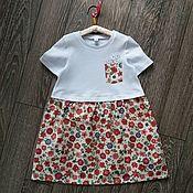 Работы для детей, handmade. Livemaster - original item Dress for girl