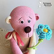 Куклы и игрушки ручной работы. Ярмарка Мастеров - ручная работа Мишутка вязаная.. Handmade.