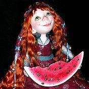 """Куклы и игрушки ручной работы. Ярмарка Мастеров - ручная работа кукла """"Вкусняшка"""". Handmade."""