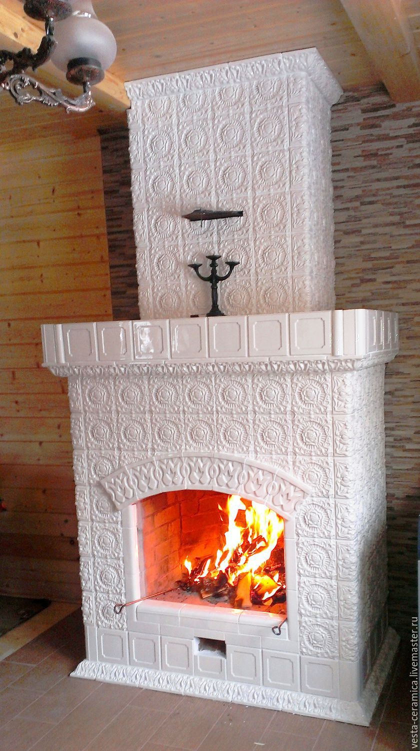 Tiled fireplace ', Rungo', Fireplaces, Moscow,  Фото №1