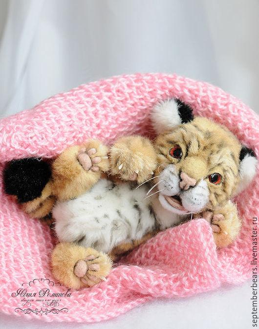 Мишки Тедди ручной работы. Ярмарка Мастеров - ручная работа. Купить Амурский тигрёнок. Handmade. Рыжий, игрушечный тигренок, котенок