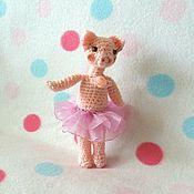 Мягкие игрушки ручной работы. Ярмарка Мастеров - ручная работа Свинка-Балеринка. Handmade.