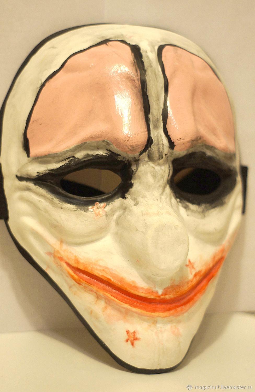 Hoxton Payday2 mask Payday mask Hoxton Payday 2 Payday Hoxton mask, Carnival masks, Moscow,  Фото №1