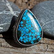 Украшения handmade. Livemaster - original item Russkoe ring (ring) turquoise