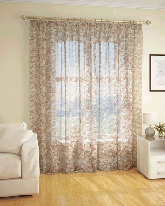 Текстиль, ковры ручной работы. Ярмарка Мастеров - ручная работа. Купить Тюль в гостиную или спальню. Handmade. Тюль, тюль