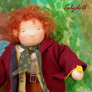 Куклы и игрушки ручной работы. Ярмарка Мастеров - ручная работа Вальдорфская игрушка: Бильбо Бэггинс. Handmade.
