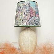Для дома и интерьера ручной работы. Ярмарка Мастеров - ручная работа Лампа настольная Старый город. Handmade.
