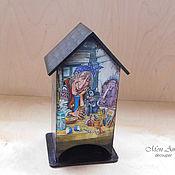 Домики ручной работы. Ярмарка Мастеров - ручная работа Чайный домик « Сказочный». Handmade.