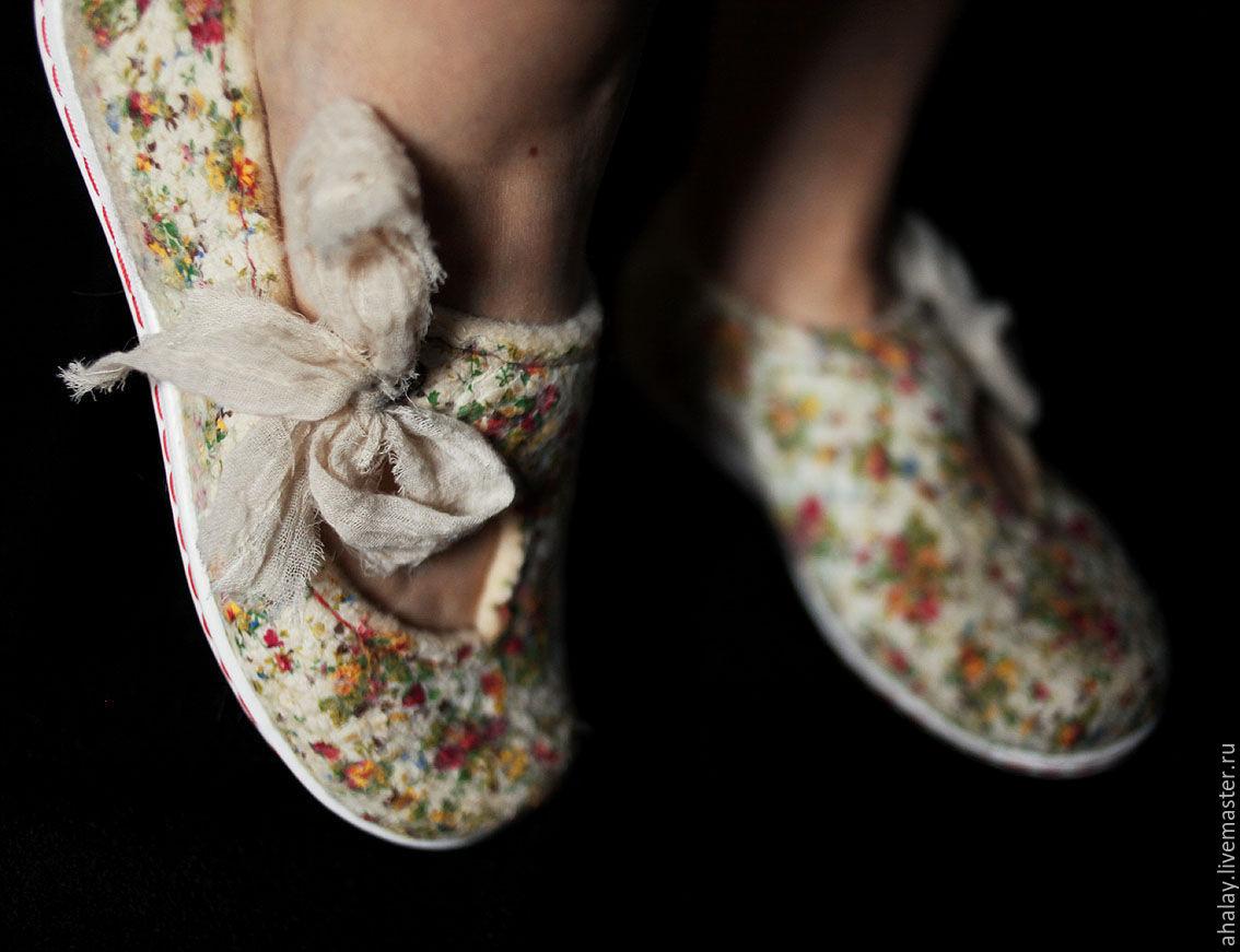 """Видеокурс """"Летние туфельки Мери Джейн в нуно-технике"""", Инструменты для кукол и игрушек, Москва,  Фото №1"""