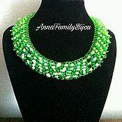 Украшения handmade. Livemaster - original item Collar de Bosque ninfa. Handmade.