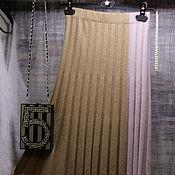 Одежда handmade. Livemaster - original item The skirt is asymmetrical ( cashmere ). Handmade.
