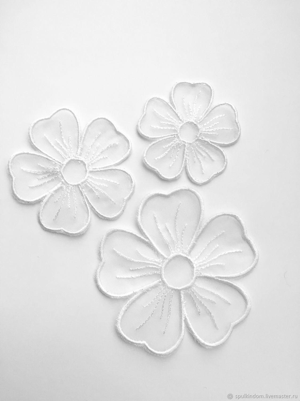 Вышитые цветы, Цветы, Москва,  Фото №1