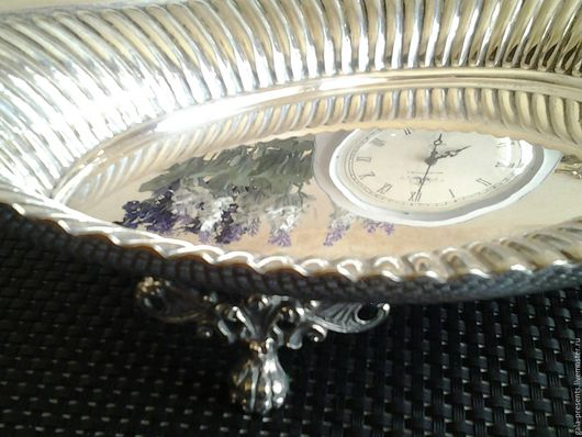 Винтажная посуда. Ярмарка Мастеров - ручная работа. Купить -10% W&H. Уникальная ваза 1885-1908, Англия, серебр покрытие. Handmade.