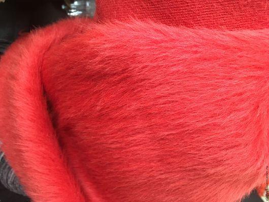 Шитье ручной работы. Ярмарка Мастеров - ручная работа. Купить Альпака красный цвет. Handmade. Ярко-красный