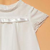 Работы для детей, ручной работы. Ярмарка Мастеров - ручная работа Крестильное платье Принцесса. Handmade.