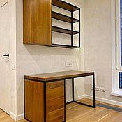 Для дома и интерьера handmade. Livemaster - original item Desktop made of solid birch (project g. Mytishchi). Handmade.