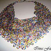 Украшения handmade. Livemaster - original item Beaded scarf-necklace