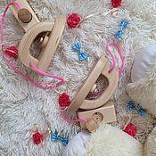 Мягкие игрушки ручной работы. Ярмарка Мастеров - ручная работа Утюг со шнуром и вилкой. Из дерева. Игрушечный утюжок. Детский утюг. Handmade.