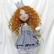 Куклы и игрушки ручной работы. Ярмарка Мастеров - ручная работа Принцеска-выбражуля, интерьерная кукла.. Handmade.