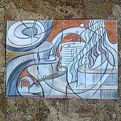 Картины и панно handmade. Livemaster - original item The creation of a miracle.. Handmade.