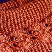 Аксессуары handmade. Livemaster - original item Scarf - LIC knitted Autumn.. Handmade.
