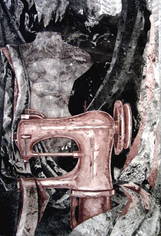 картина коллаж: Мастерская Маэстро арт графика