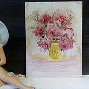 Картины и панно ручной работы. Ярмарка Мастеров - ручная работа лето .акварель. Handmade.