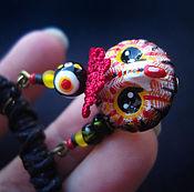 Украшения handmade. Livemaster - original item Short necklace with cavuskoy