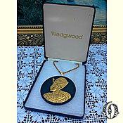Винтаж ручной работы. Ярмарка Мастеров - ручная работа Wedgwood Раритет Египетский Кулон Англия. Handmade.