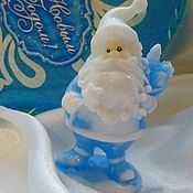 Косметика ручной работы. Ярмарка Мастеров - ручная работа Мыло Санта. новогоднее мыло. Handmade.