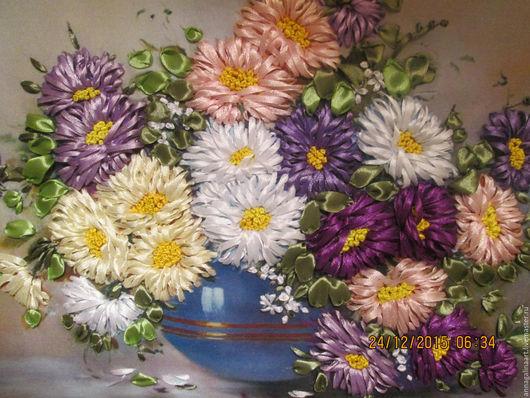 Картины цветов ручной работы. Ярмарка Мастеров - ручная работа. Купить Веселые подружки. Handmade. Картина в подарок, ручная работа