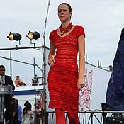 """Одежда ручной работы. Ярмарка Мастеров - ручная работа Платье """"Цвет страсти"""". Handmade."""