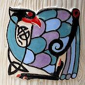Посуда handmade. Livemaster - original item Mug ceramic Peacock. Handmade.