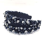 Украшения handmade. Livemaster - original item Bezel crown from beads in the style of Dolce. Handmade.