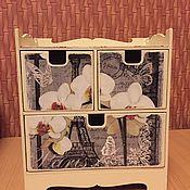 Для дома и интерьера ручной работы. Ярмарка Мастеров - ручная работа Комод для украшений орхидеи. Handmade.