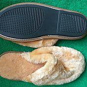 Обувь ручной работы handmade. Livemaster - original item Mouton closed Cape Slippers for women. Handmade.