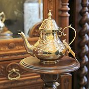 Для дома и интерьера ручной работы. Ярмарка Мастеров - ручная работа чайник антикварий латунь Европа. Handmade.