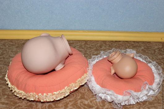 Куклы и игрушки ручной работы. Ярмарка Мастеров - ручная работа. Купить Подушечки для прошивки (рутинга) волос куклам реборн. Handmade.