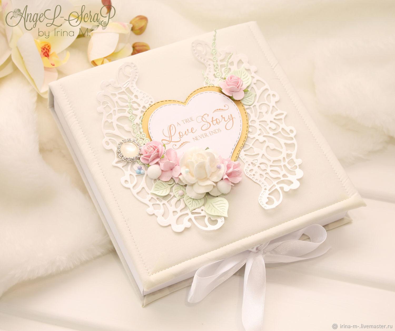 Коробочка для денежного подарка или сертификата на свадьбу Love Story, Подарки, Москва,  Фото №1