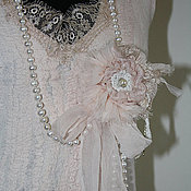 """Одежда ручной работы. Ярмарка Мастеров - ручная работа Платье """"Luxury pearl"""". Handmade."""