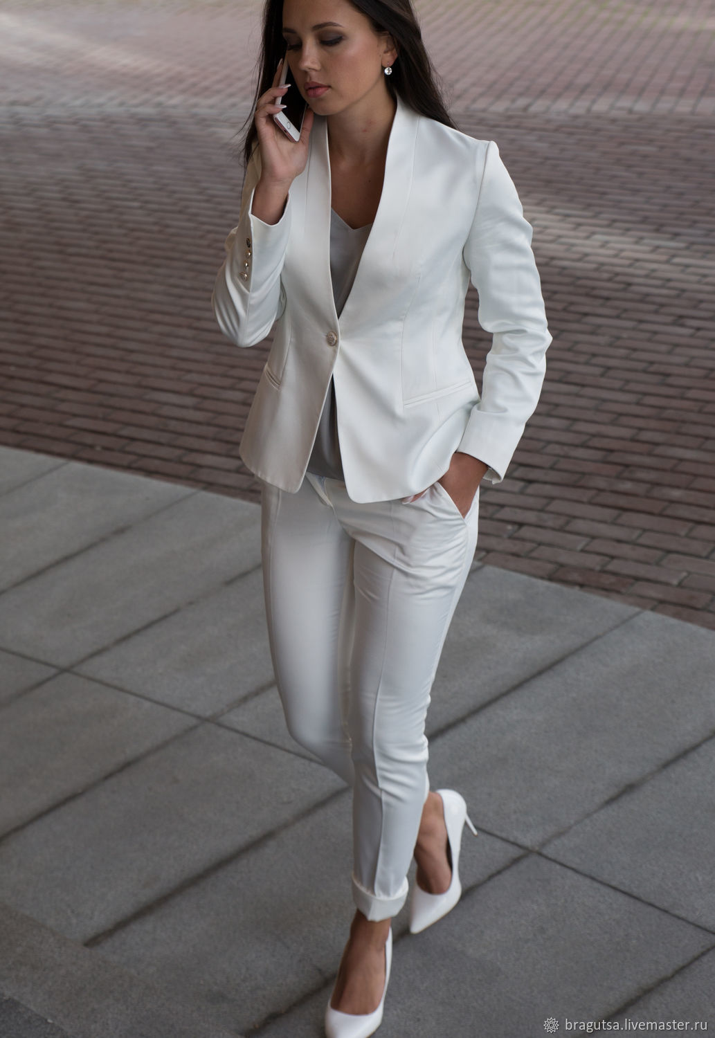 Suit WHITE CLASSIC, Suits, Moscow,  Фото №1