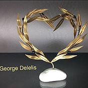 Для дома и интерьера handmade. Livemaster - original item Olive wreath. Handmade.