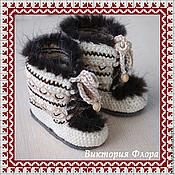 Обувь ручной работы. Ярмарка Мастеров - ручная работа Норвежские угги. Handmade.
