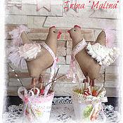 Куклы и игрушки ручной работы. Ярмарка Мастеров - ручная работа Курочки пасхальные. Handmade.