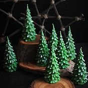 Сувениры и подарки handmade. Livemaster - original item Scented candles-Christmas trees NEW PRICE. Handmade.