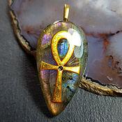 Украшения handmade. Livemaster - original item Talisman pendant Egyptian symbol