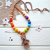"""Одежда ручной работы. Ярмарка Мастеров - ручная работа """"Мишка на радуге"""" слингобусы. Handmade."""