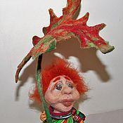 """Куклы и игрушки ручной работы. Ярмарка Мастеров - ручная работа Человечик """" СЕНЕЧКА"""". Handmade."""